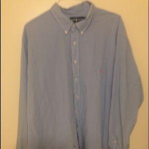 Ralph Lauren; Polo; Button-Up Dress Shirt; 3X